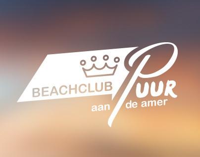 "Beachclub ""Puur aan de Amer"" Branding"