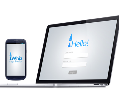 Whiz- an Android App for Aspirations.