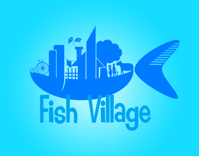 Fish Village Production Logo
