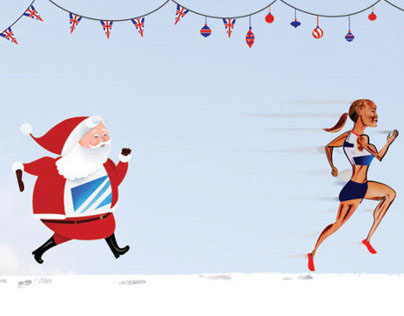 Promotional Christmas Cards to Editorial Art Directors
