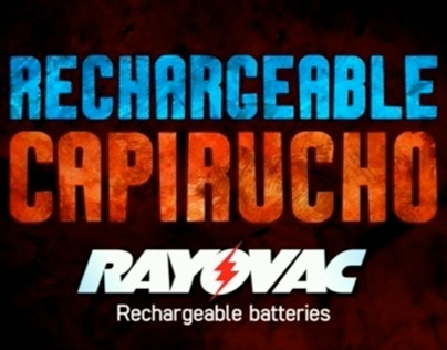 Rechargeable Capirucho Rayovac Rechargeable batteries