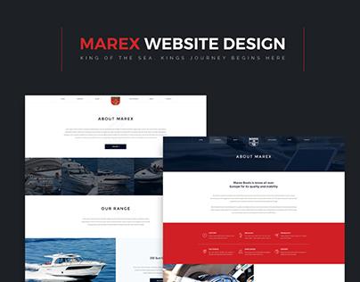 Website Design | Norwegian Boat production Company