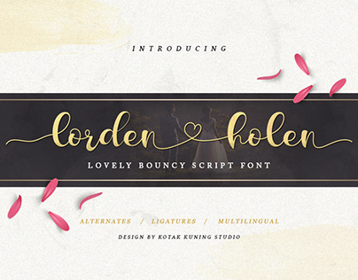 Lorden Holen (Free Font Demo)