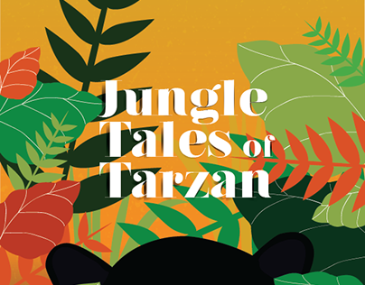 Book Redesign: Jungle Tales of Tarzan