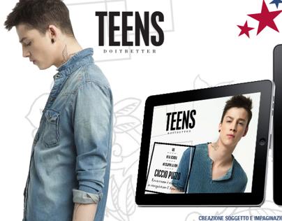 Teen - Digital publishing for iPad