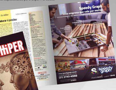 CG - Anúncio Speedy Graph - Revista Superhiper