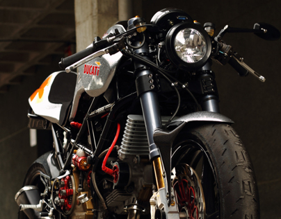 Silver Shotgun by Radical Ducati (pictures)