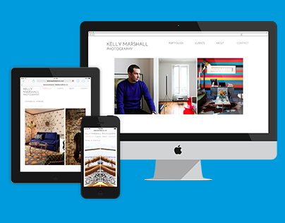 Responsive Portfolio Site - Custom WordPress Theme