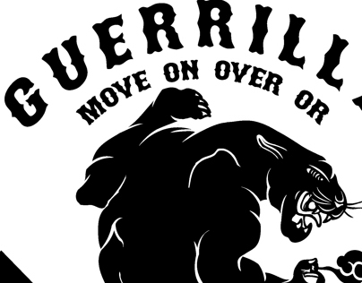 Black Panther - Branding for Guerrilla Apparel