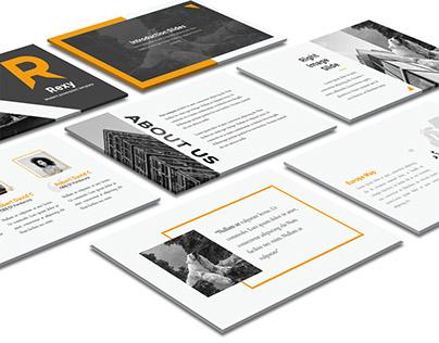 Rexy Professional Powerpoint Presentation Design