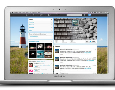 Customized Twitter Page Designs