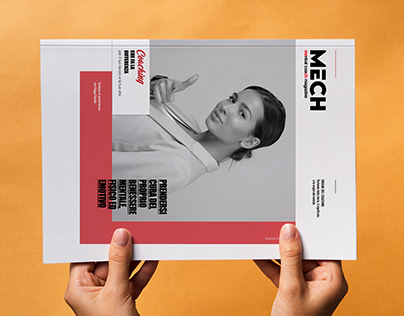 Magazine for the Editorial Graphic Project