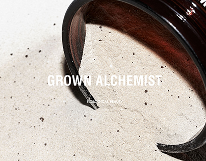 Grown Alchemist Skincare - Branding