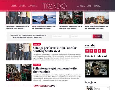 Trendio Redesign