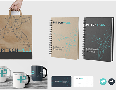 Products branding and promo materials PitechPlus