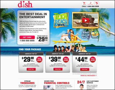 Disney - Not Another Teen Movie Landing Page