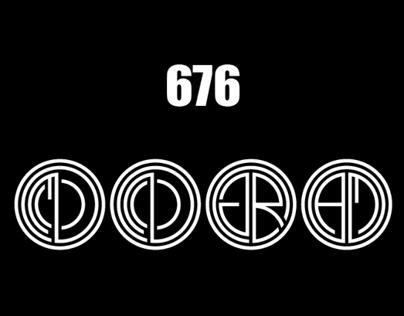 676 different  Monogram, Logo G ( GOLD )