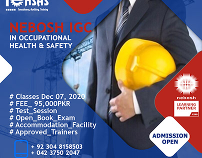 Nebosh IGC Certificate in Occupational Health & safety