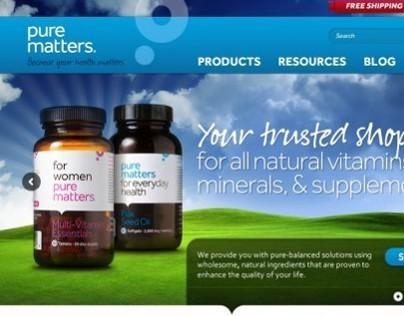 Pure Matters (e-commerce )
