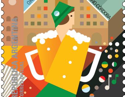 Argentine Festivals Postage Stamps