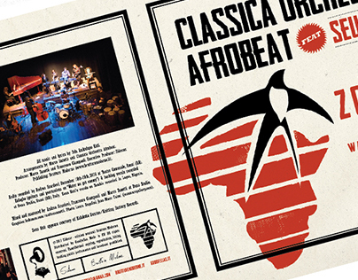 "Vinyl 7""-Classica Orchestra Afrobeat @Glastonbury Fest"