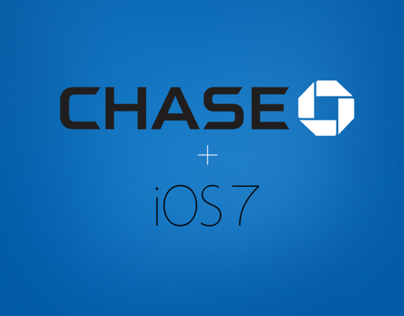 Chase + iOS7 - Concept