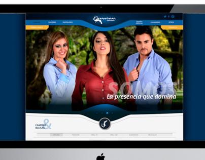 Website Uniformes Cameron