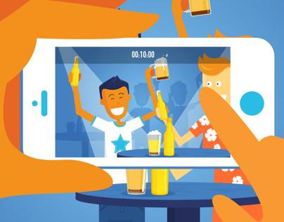 Introduce new social location based app