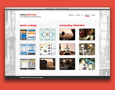 jQuery Portfolio Site