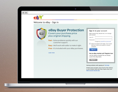 eBay Buyer Protection Campaign