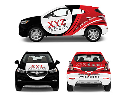 Car Wrapping Templates