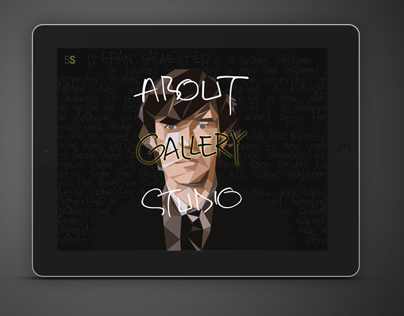 Stefan Sagmeister Website Design