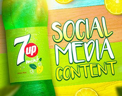 Social Media Content - 7Up Mint