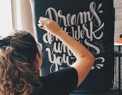 Motivacional lettering