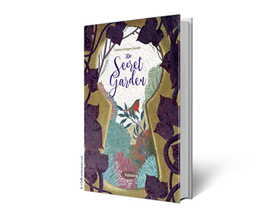 Self promotion. Cover of The Secret Garden