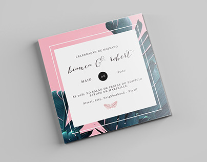 Invitation to Engagement Party - Brazil