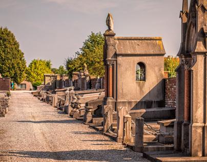 Graveyard impressions.