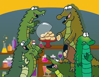 Crocodiles and Crumpets