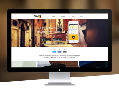 TAXI5 - New Site Design