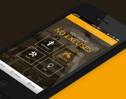 No excuses App