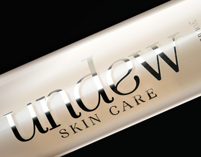 Branding: Undew Skin Care logo, naming, package design