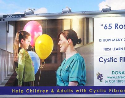 Cystic Fibrosis Association Billboard