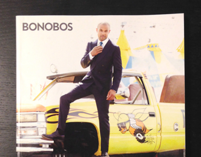 Bonobos Fall Catalog Illustrations
