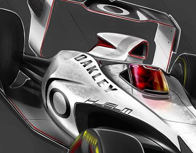 Oakley F1 Halo Concept