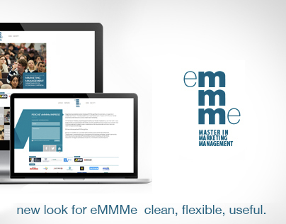 Restyling for eMMMe - Master in Marketing Management
