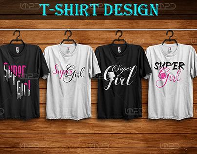 Typography T-Shirts Design
