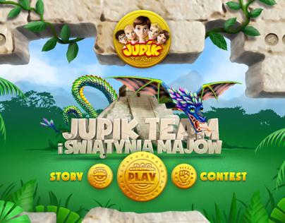 Jupik Team & Mayan temple