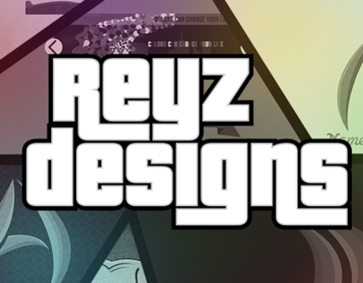 Poster ReyzDesigns / GTA text