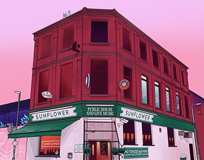 The Sunflower Bar, Belfast
