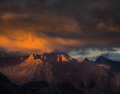 Dolomites. It is all about the light
